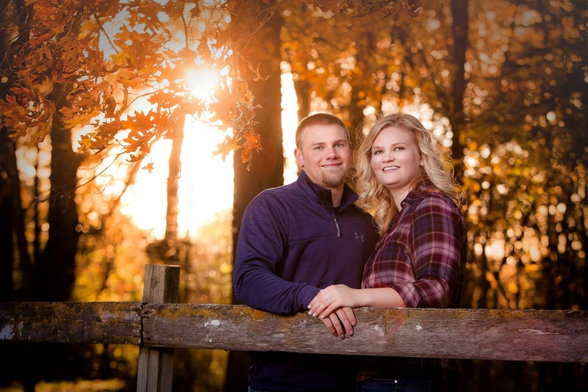 SE MN Engagement Portrait Photographer