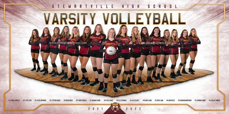 Stewartville Varsity Volleyball  Minnesota Team Banner